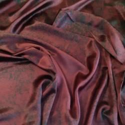 Material-TM Silk burgund
