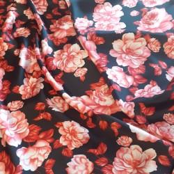 Materiał-TM atłas róże